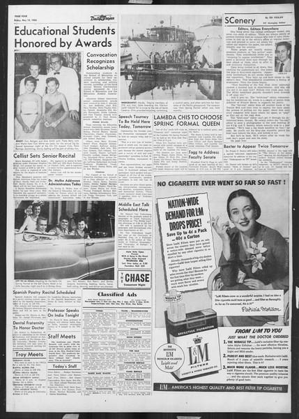 Daily Trojan, Vol. 45, No. 132, May 14, 1954