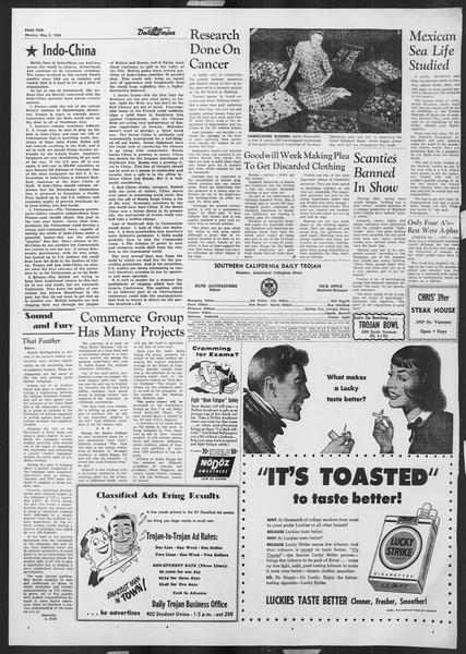 Daily Trojan, Vol. 45, No. 123, May 03, 1954