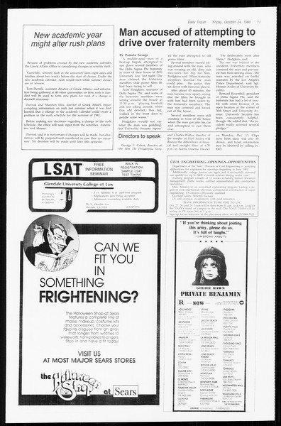 Daily Trojan, Vol. 89, No. 28, October 24, 1980