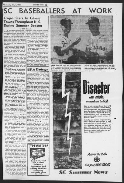 Summer News, Vol. 9, No. 5, July 07, 1954