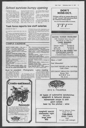Daily Trojan, Vol. 88, No. 26, March 12, 1980