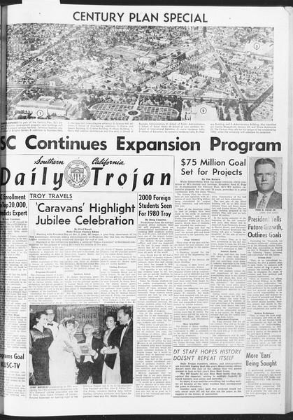Daily Trojan, Vol. 47, No. 36, November 04, 1955