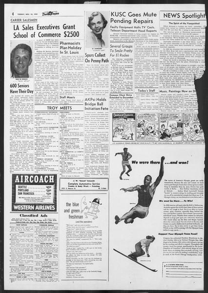 Daily Trojan, Vol. 46, No. 48, November 23, 1954