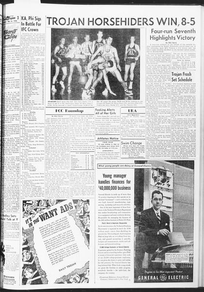Daily Trojan, Vol. 47, No. 74, February 14, 1956