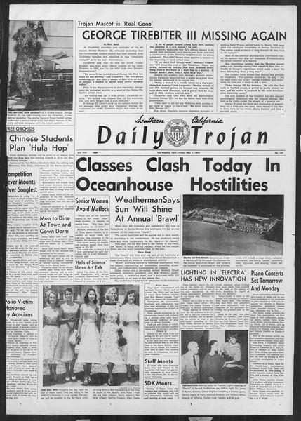 Daily Trojan, Vol. 45, No. 127, May 07, 1954