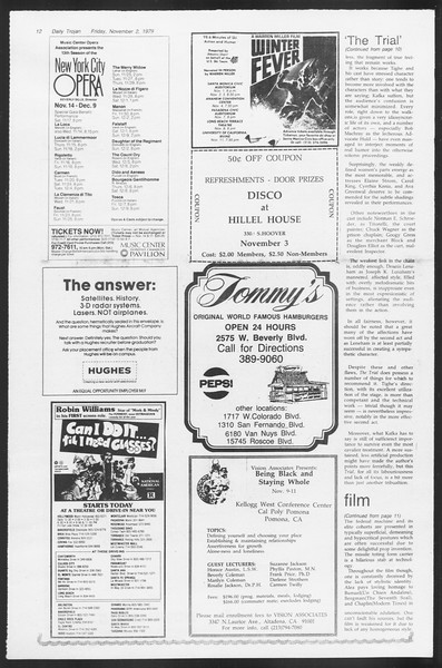 Daily Trojan, Vol. 87, No. 35, November 02, 1979