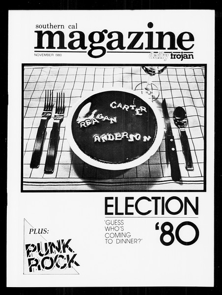 Daily Trojan, Vol. 89, No. 35, November 04, 1980