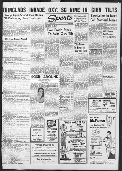 Daily Trojan, Vol. 45, No. 107, April 02, 1954