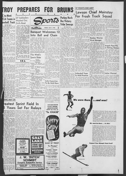 Daily Trojan, Vol. 46, No. 127, May 03, 1955