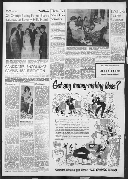 Daily Trojan, Vol. 45, No. 116, April 22, 1954
