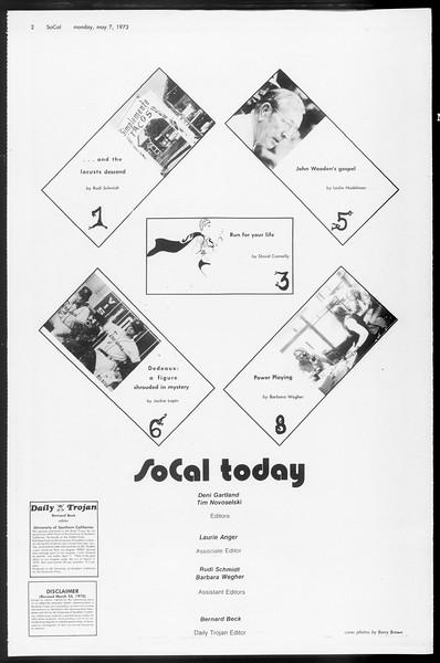 SoCal, Vol. 65, No. 121, May 07, 1973
