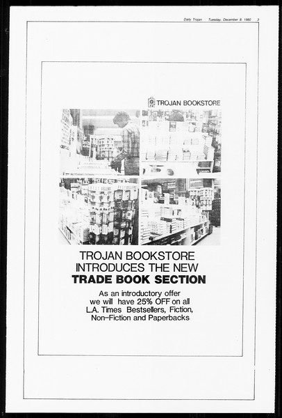 Daily Trojan, Vol. 89, No. 55, December 09, 1980