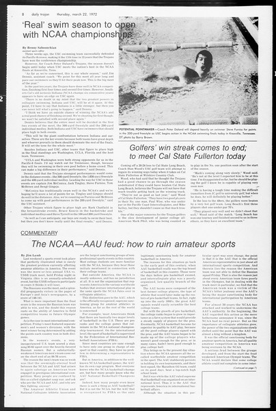 Daily Trojan, Vol. 65, No. 96, March 22, 1973
