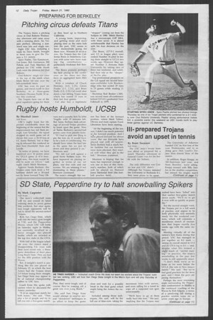 Daily Trojan, Vol. 88, No. 33, March 21, 1980