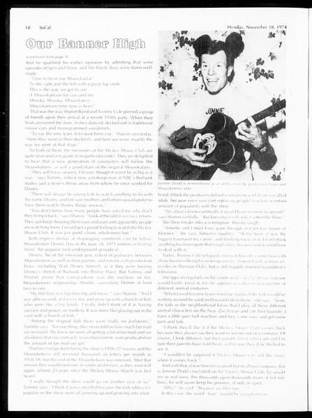 SoCal, Vol. 67, No. 43, November 18, 1974