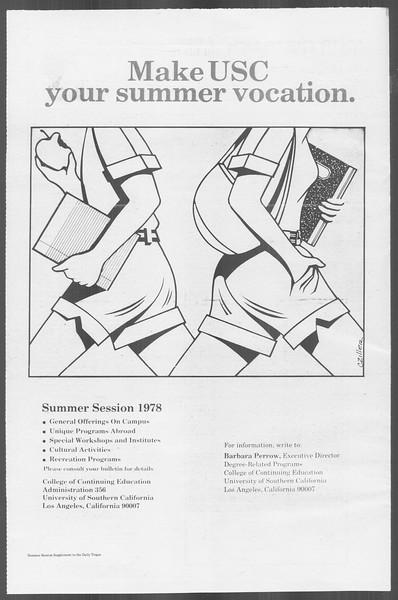 Daily Trojan, Vol. 73, No. 26, March 16, 1978