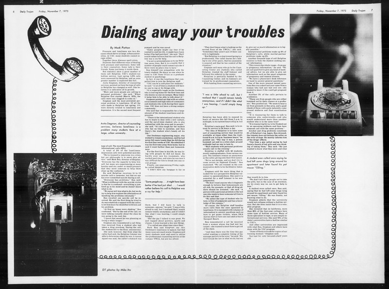 Daily Trojan, Vol. 68, No. 36, November 07, 1975