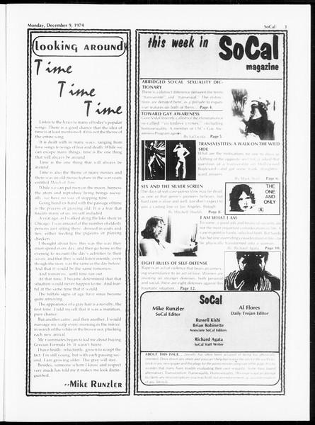 SoCal, Vol. 67, No. 54, December 09, 1974