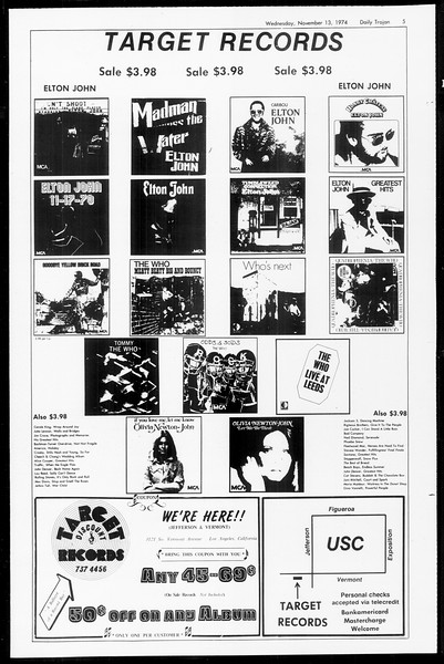 Daily Trojan, Vol. 67, No. 40, November 13, 1974