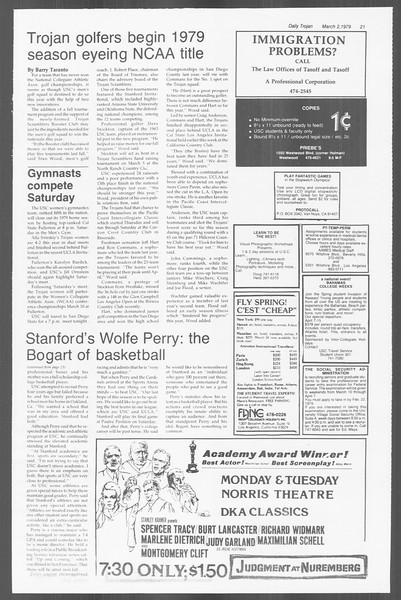 Daily Trojan, Vol. 76, No. 15, March 02, 1979