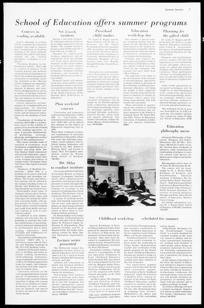 Daily Trojan, Vol. 66, No. 89, March 13, 1974