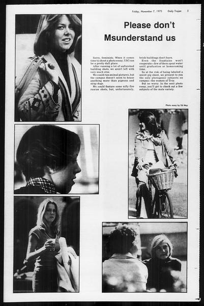 Daily Trojan, Vol. 68, No. 36, November 07, 1975
