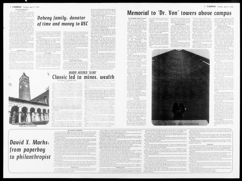 Daily Trojan, Vol. 66, No. 103, April 02, 1974