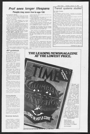 Daily Trojan, Vol. 87, No. 68, January 15, 1980