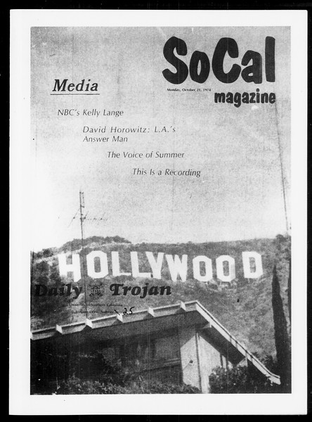 SoCal, Vol. 67, No. 25, October 21, 1974