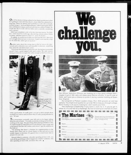SoCal, Vol. 66, No. 87, March 11, 1974