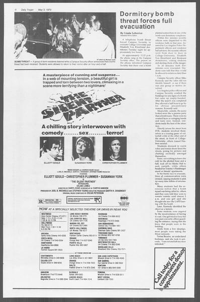 Daily Trojan, Vol. 76, No. 52, May 03, 1979