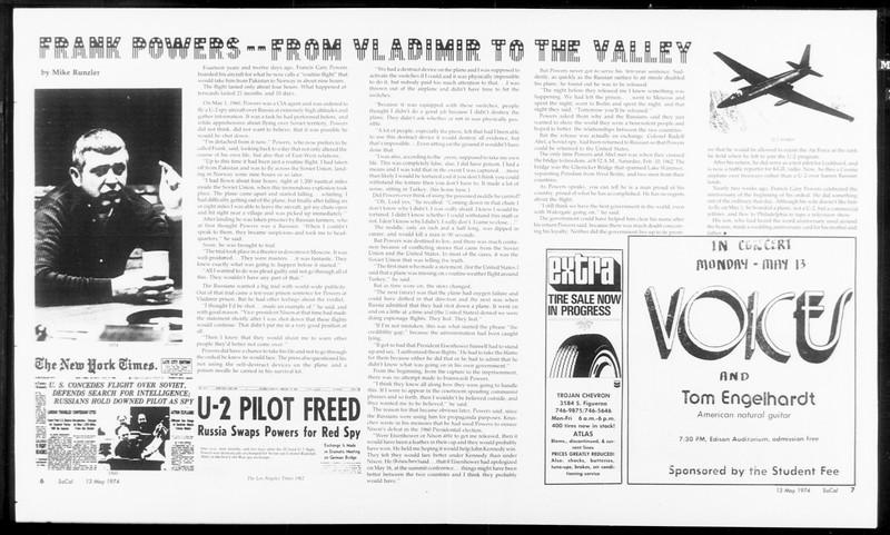 SoCal, Vol. 66, No. 125, May 13, 1974