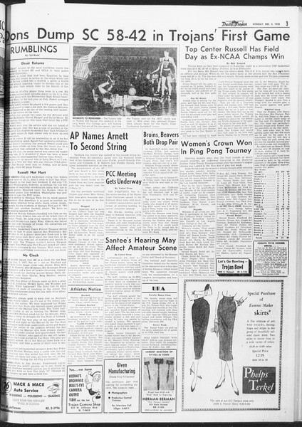 Daily Trojan, Vol. 47, No. 54, December 05, 1955