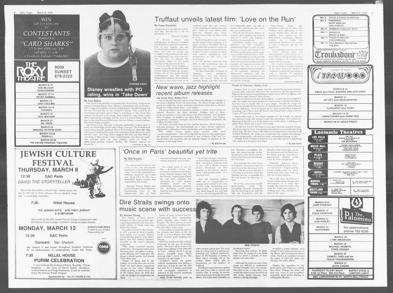 Daily Trojan, Vol. 76, No. 19, March 08, 1979