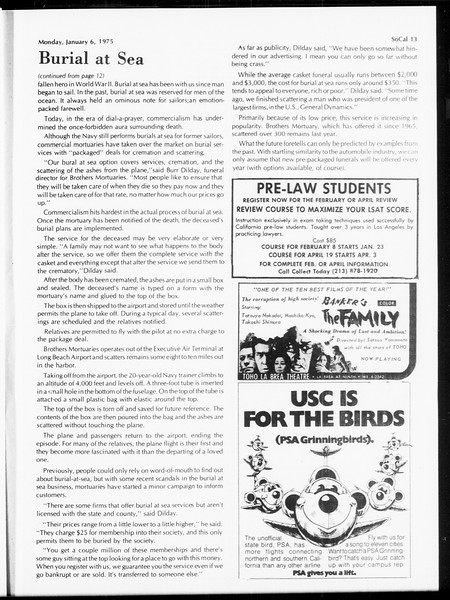 SoCal, Vol. 67, No. 61, January 06, 1975