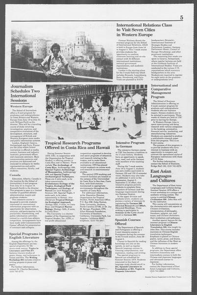 Daily Trojan, Vol. 73, No. 25, March 15, 1978