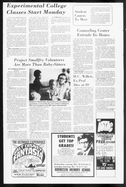 Daily Trojan, Vol. 66, No. 17, October 10, 1973