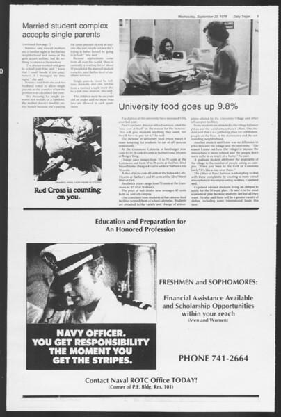 Daily Trojan, Vol. 75, No. 3, September 20, 1978
