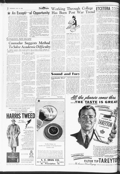 Daily Trojan, Vol. 47, No. 24, October 19, 1955