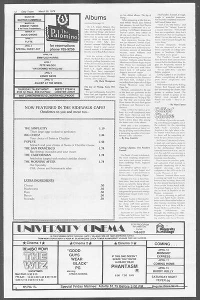 Daily Trojan, Vol. 76, No. 34, March 29, 1979