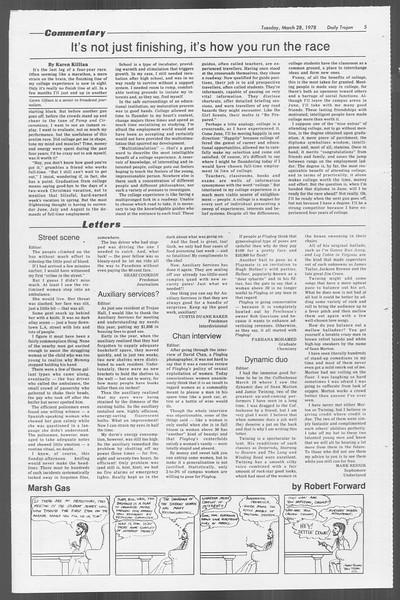 Daily Trojan, Vol. 73, No. 27, March 28, 1978