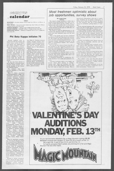 Daily Trojan, Vol. 73, No. 4, February 10, 1978