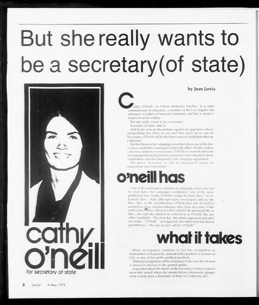 SoCal, Vol. 66, No. 120, May 06, 1974
