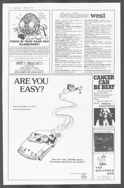 Daily Trojan, Vol. 76, No. 17, March 06, 1979