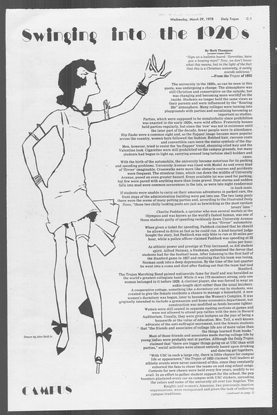 Daily Trojan, Vol. 73, No. 28, March 29, 1978