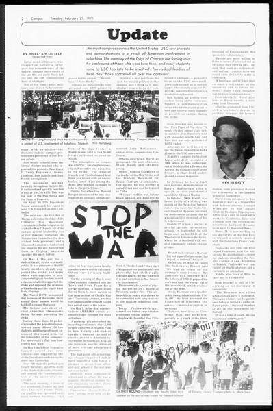 Daily Trojan, Vol. 67, No. 79, February 25, 1975