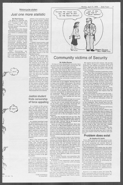 Daily Trojan, Vol. 73, No. 41, April 17, 1978