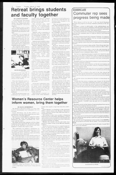 Daily Trojan, Vol. 67, No. 89, March 11, 1975