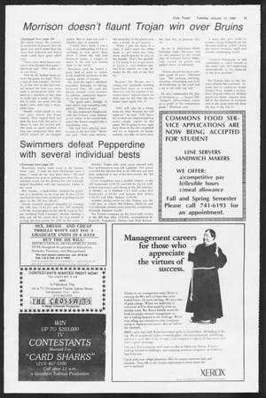 Daily Trojan, Vol. 87, No. 68, January 15, 1980