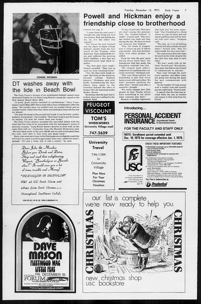 Daily Trojan, Vol. 68, No. 59, December 16, 1975
